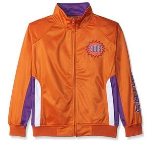 Phoenix Suns Tricot Track Jacket NWT Youth XL